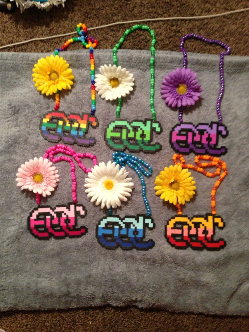 Edc Daisy Necklaces For Edc Or Raves