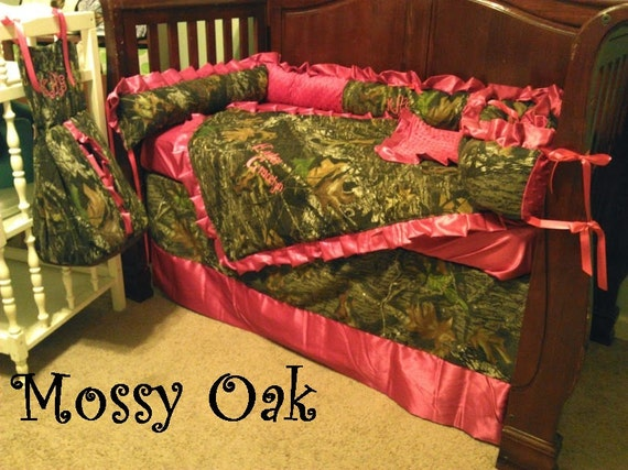 Items Similar To 6 Pc Baby Girl Camo And Pink Satin