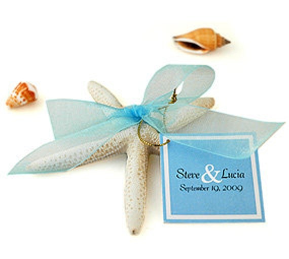 Beach Starfish Wedding Favor Of Love By HansonEllis On Etsy