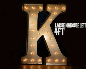 48 xlarge marquee letter marquee sign lighted metal marquee sign carnival letter custom signs extra large marquee letter 48