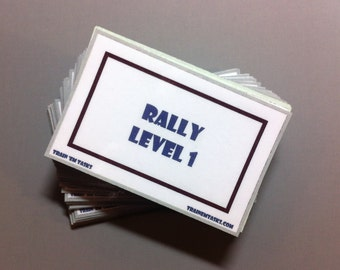 Akc Rally Obedience Prep Pack 39 Cards With Signs By