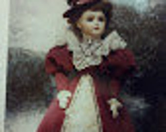 Doll Dress Pattern, BS-412-18