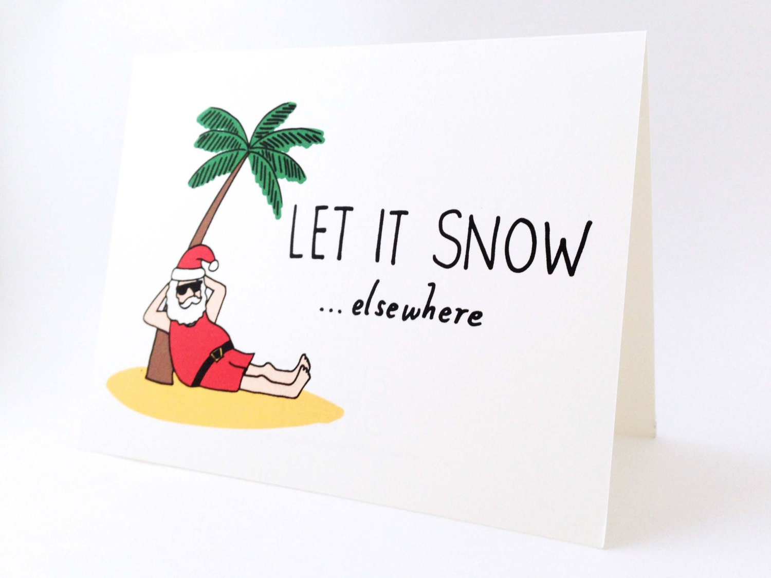 Funny Holiday Card // Humorous Australian Christmas Card //