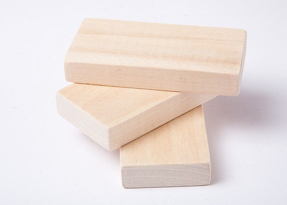 10 unfinished wood blocks for wood crafts wooden rectangle for Where to buy wood blocks for crafts