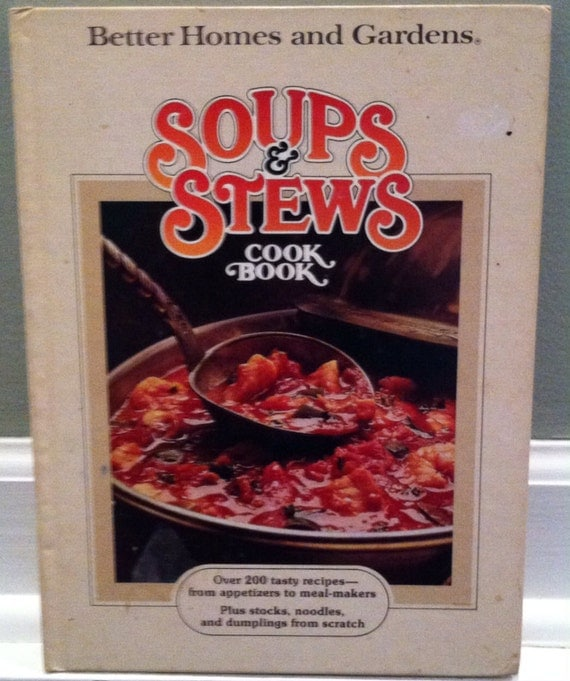 Vintage collectible cookbook better homes and gardens Better homes and gardens recipes from last night