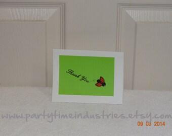 10 Ladybug Thank You Cards
