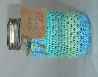 Mason Jar Cozy Crocheted Cozy Stocking Stuffers