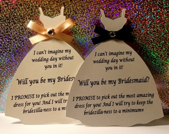 Will you be my bridesmaid/maid of honor/flower girl