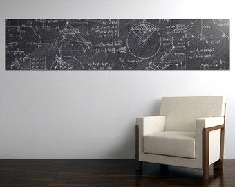 black Chalkboard sticker - 200x45 cm