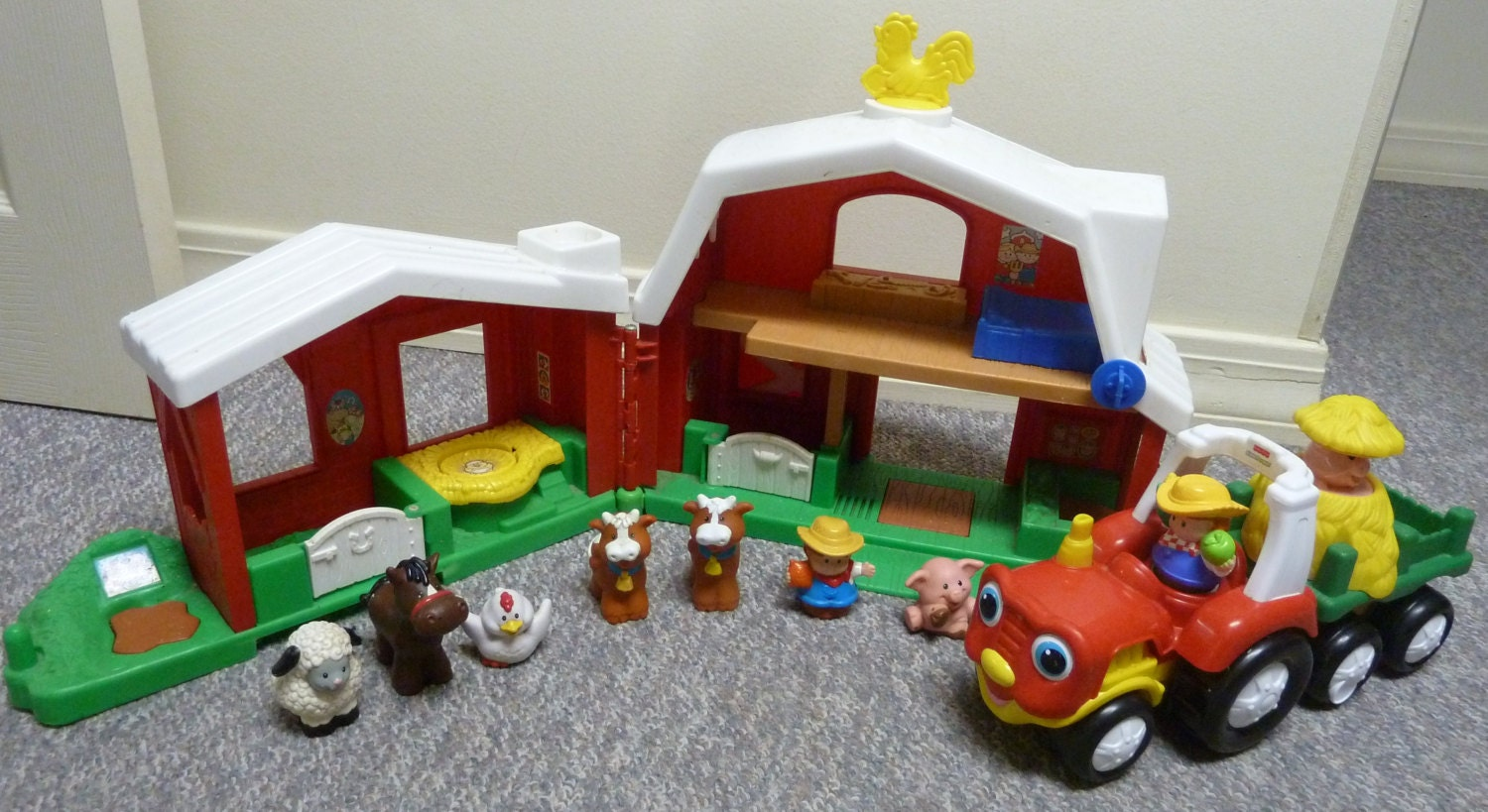 Fisher Price Little People Animal Sounds Farm Set by ...