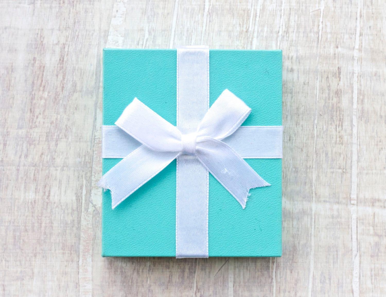 Tiffany Blue Jewelry Box Gift Box