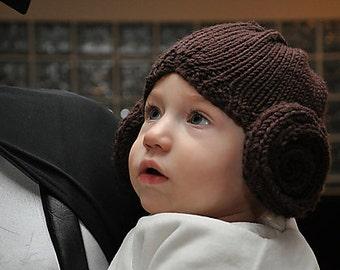 Princess Leia Hat knitting pattern