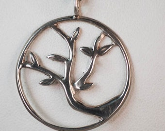 Tree of life 2 pendent #158ss