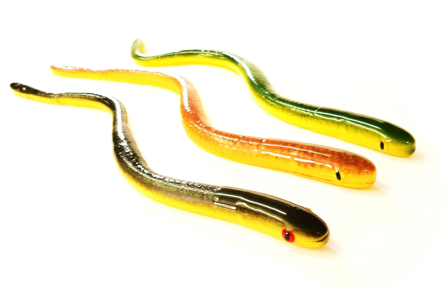 Bogbaits new monster snakes floating realistic snake lure bass for Snake fishing lure