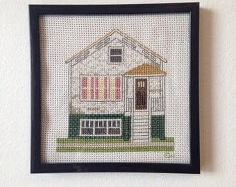 Chicago Cottage Cross Stitch