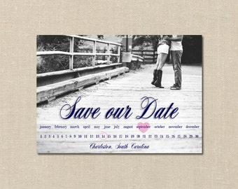 Custom Photo Save the Date - Card/Postcard SAMPLE & DEPOSIT