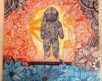 Brand New - Deja Entendu - Album Art Inspired Drawing