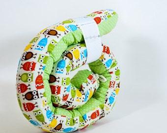 Baby bed bumper - Snake