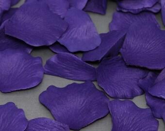 200 Purple Silk Flower Wedding Petals