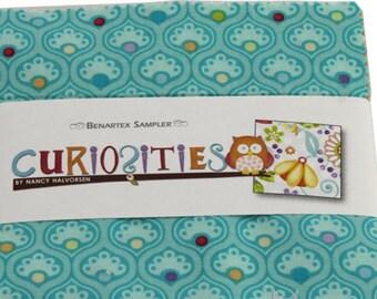 "Curiosities by Benartex 40 5"" Squares Charm Packs 100% Designer Cotton by Nancy Halvorsen"