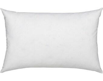"""16x22"""" Pillow Insert, Pillow Form, Rectangle Pillow, Lumbar Pillow, Inside Pillow, Indoor, Outdoor Pillow."""