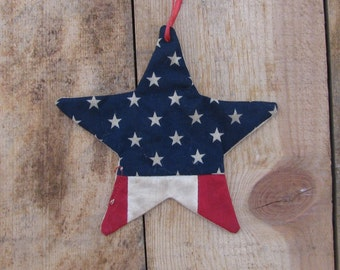 Small Patriotic Star Ornament