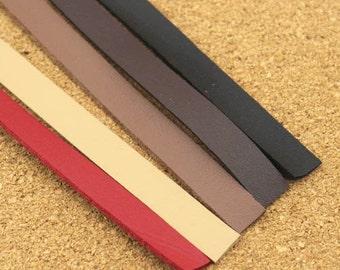 1 PCS, 1.2cm*120cm / 47 inch (Width * Length) PU Faux Leather Pleather Strap / Belt / Webbing, Five Colors Available