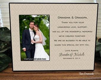 Wedding Gift For Grandparents Personalize Keepsake Picture Frame