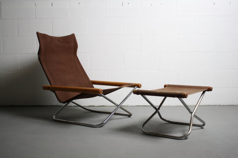 SALE 60's Mid Century Modern NHI Japanese Lounge Chair w/