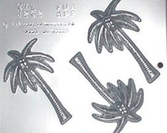 Palm Tree Chocolate Candy Mold  1262