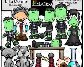 Frankenstein's Little Monster Clip Art Bundle