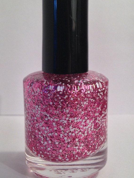 Cherry Blossom Glitter Polish