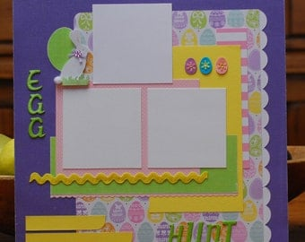 Premade Scrapbook Pages