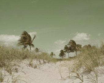 Dreamy Beach Photography Set 4 Prints Aqua Blue Turquoise Wall