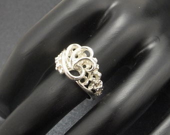Sterling Silver Lost Wax Casting Ring