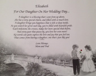 Wedding Gift For Father Remarrying : daughter mom Etsy
