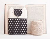 Stars iPad mini Case, kindle fire 7 case, iPad mini sleeve, Black Cat eReader Cover, nook touch case, Cat Bag kobo aura case, Gifts for Her