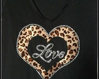 Love Leopard  Print