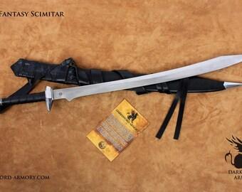 The Fantasy Scimitar (#1370)