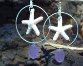 Starfish earings Original Design Hand made