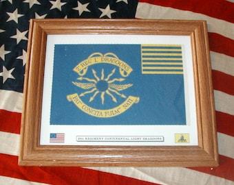American Revolution Flag, Revolutionary War Flag......2nd Light Dragoons