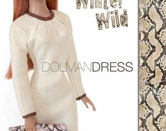"Sewing pattern for 16"" doll (Tyler Wentworth): Dolman Dress"