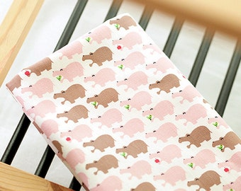 Oxford Cotton Fabric Hippo Light Pink By The Yard