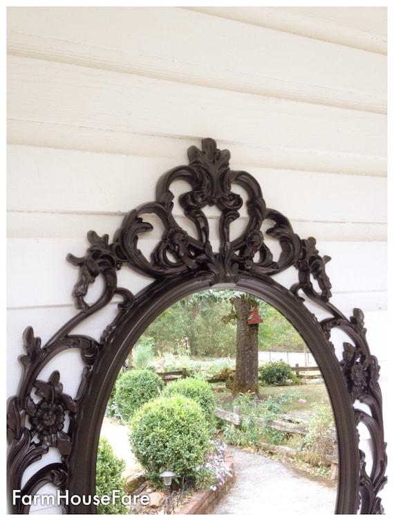 Baroque Mirror Oil Rubbed Bronze Bathroom Shabby