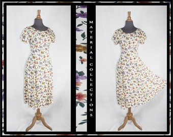 Vintage Custom Floral Dress • Material Collections
