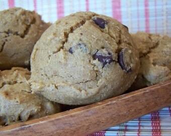 GLUTEN FREE Pumpkin Chocolate Chip Sweet Cookie Buns - 8 units