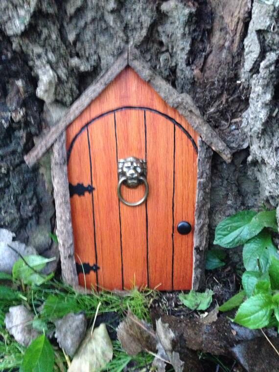 items similar to gnome door fairy door or tree door with