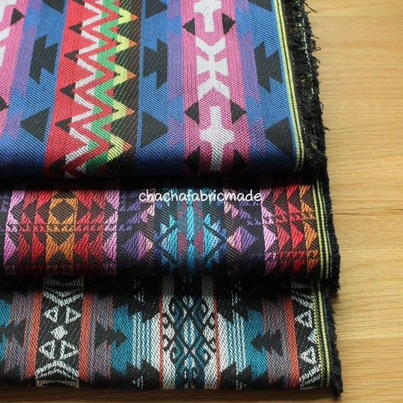 Thick Boho Bohemian Fabric Ethnic Fabric Navajo Fabric Mexican