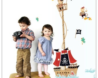 Height chart - Pirate Ship - AY7063