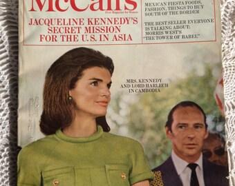 Vintage McCall's Magazine - June 1968